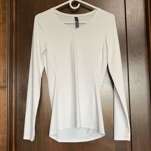 Under Armour Tops - White Under Armour Long Sleeve